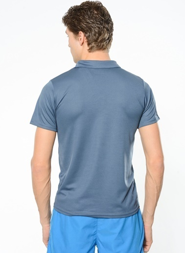 Kappa Polo Slim Fit Unisex T-Shirt Füme